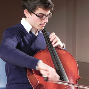 Eric Grata on cello