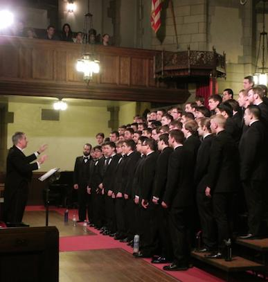 Support the Men's Glee Club Performance in Belgium for World War I Commemoration