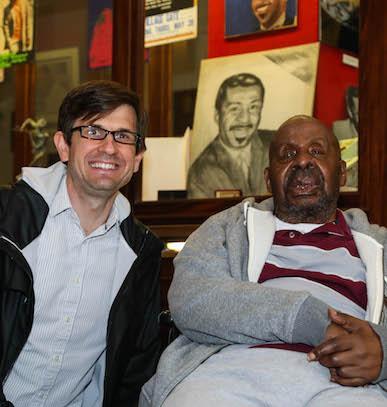 Ernie Garner Visits Erroll Garner Exhibit